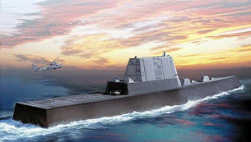 USSイージス艦 ズムウオルと 艦載機