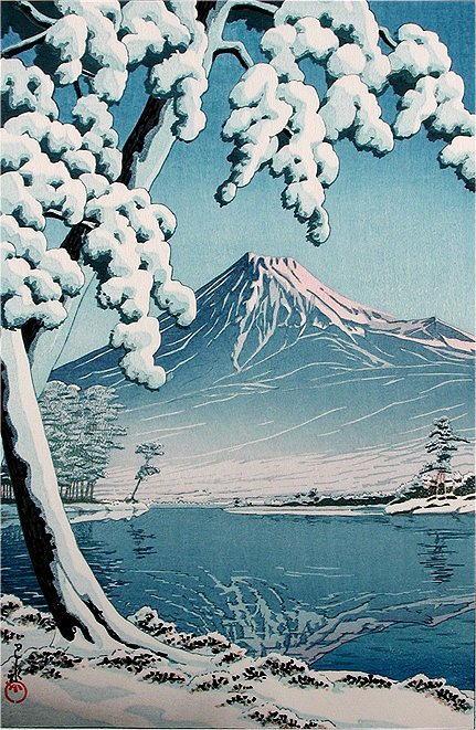 54  富士の雪晴  田子の浦 S7