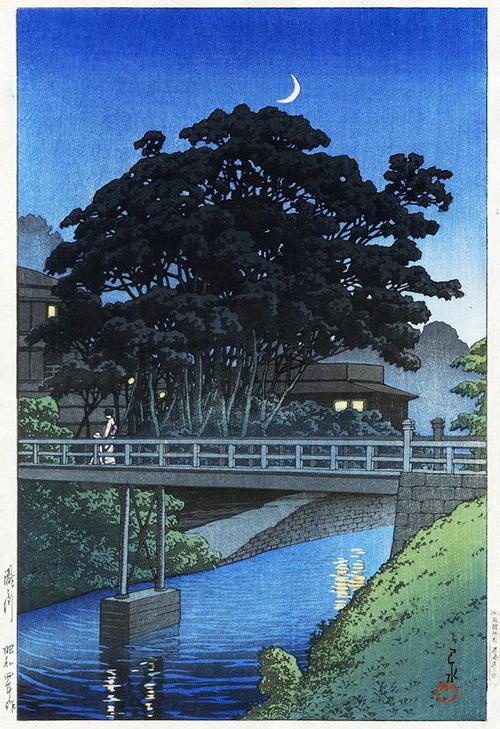 1-4  東京二十景 瀧之川 S4