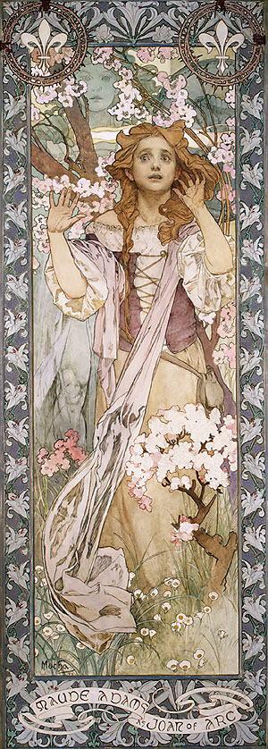 4 Mucha-Maud_Adams_as_Joan_of_Arc-1909