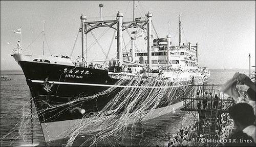 商船三井120年  さんとす丸 (戦後) 8280t 1952竣工