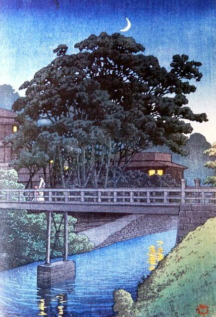 川瀬巴水の世界 滝野川 s4 1929 正 大