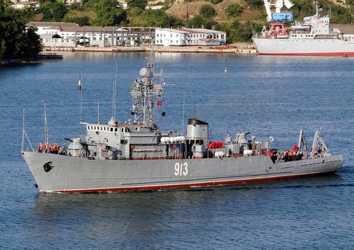 露 掃海艇3