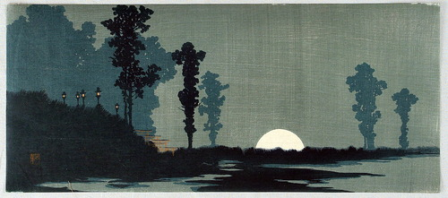 上原古年(こうねん)moonrise
