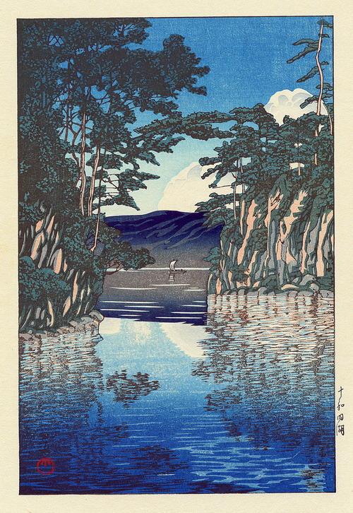 川瀬巴水の世界 十和田湖1974