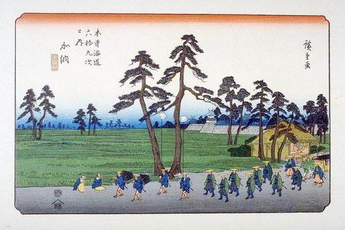 53 加納 Kisokaido53_Kano