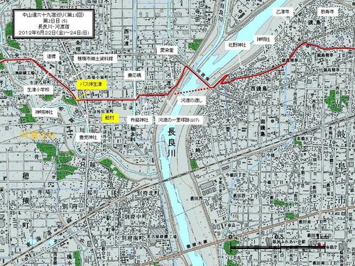 54 河渡宿付近図