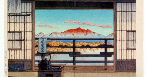 02 湯宿の朝 塩原温泉 S21 1946