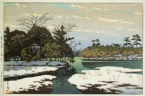 78 千石池の残雪 S16