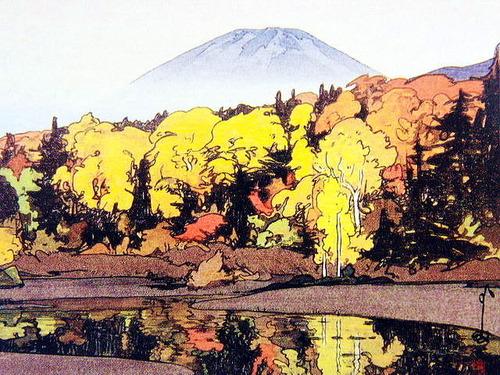 八甲田山 睡蓮沼(昭和4年 1929) 中