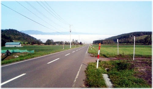 63009212 旭川へ (Google Earth 画像より・)