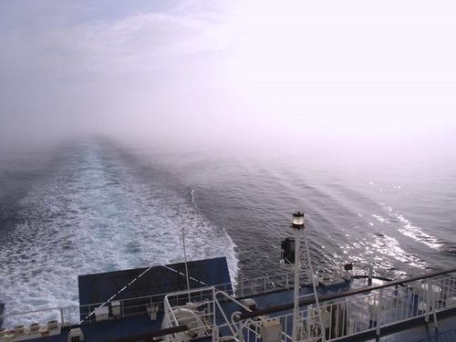 14051962 霧の青函海峡