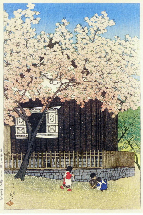 9 春の愛宕山1921T10