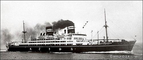 商船三井120年 高砂丸 大阪商戦1937