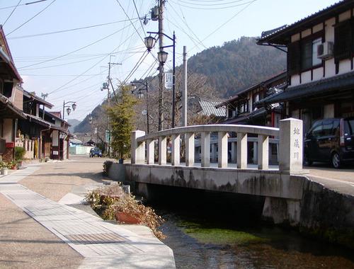 61 醒井宿 地蔵川に架かる橋
