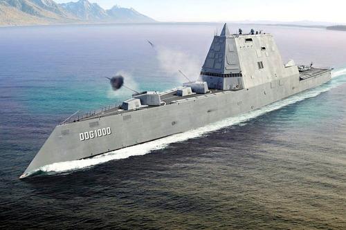 USS ズムウオルト級イージス艦8855fb25