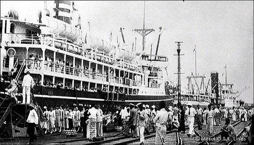 商船三井120年 さんとす丸 7267t 1925