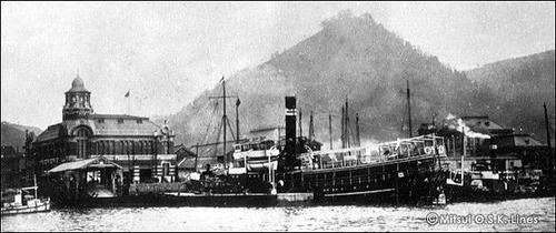 商船三井120年 大井川丸 1897 651t