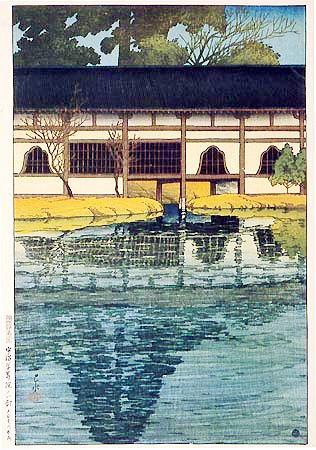 川瀬巴水の世界ujibyodoin1921