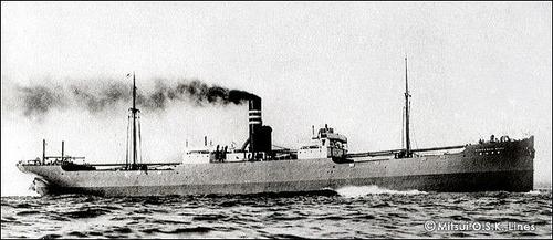 商船三井120年 金華山丸 1911