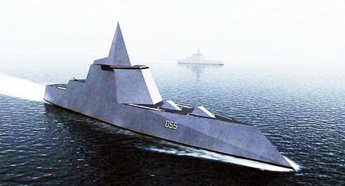 ズムウオルト級イージス艦D55 中華民国台湾海軍