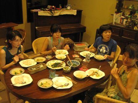 池田さんと夕食