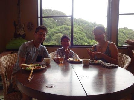田口さん朝食
