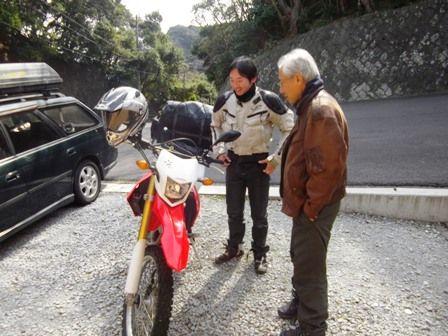 バイク談議