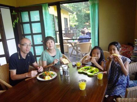 松岡さん 朝食