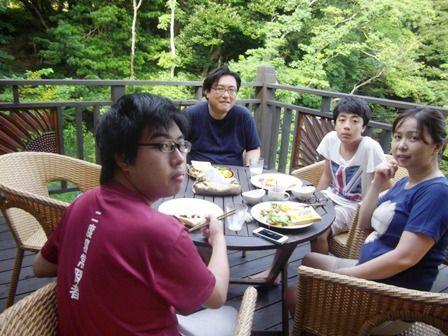 豊嶋さん 朝食