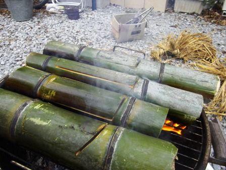 竹でご飯②