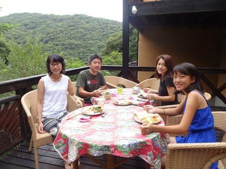 桂田さん朝食