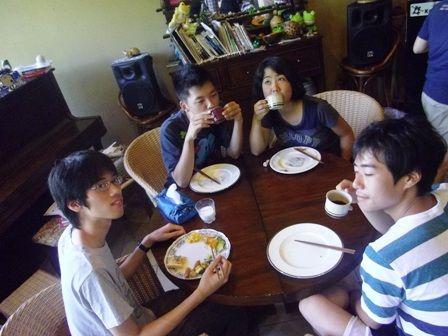 新宿っ子 朝食