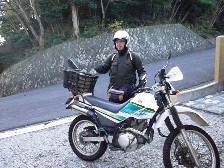 バイクにかご