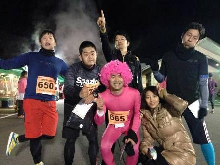 夜桜マラソン2014 s
