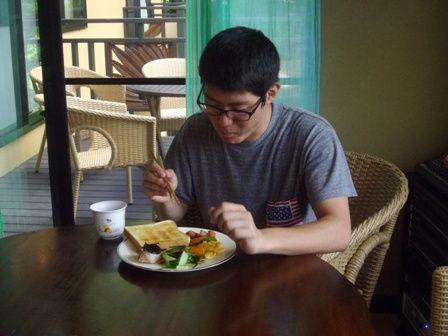 高木さん 朝食