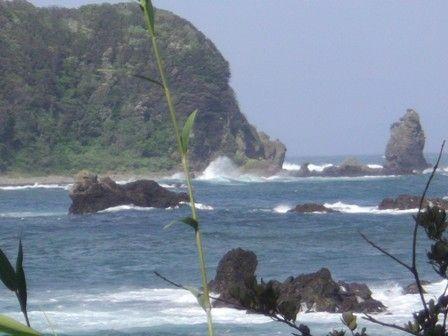7月11日 下流から小稲方面
