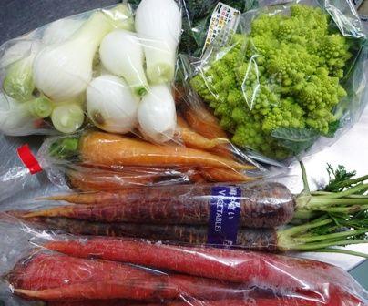 お気に入りの野菜たち