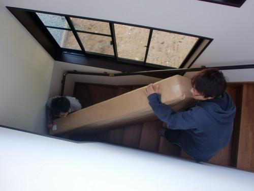 マット階段を