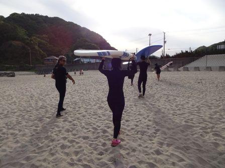 トニーさんのサーフィン教室 1日目