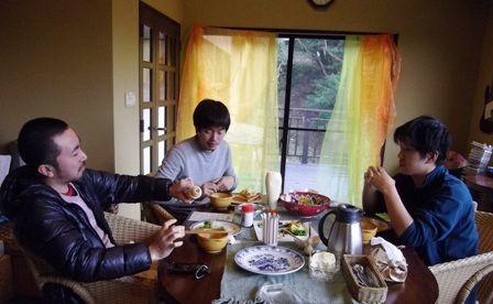 ~森守~朝食