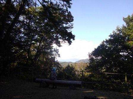 富士山が見えるはずの場所
