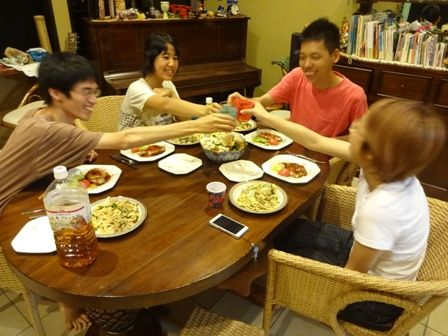 ひとちゃんたち夕飯2
