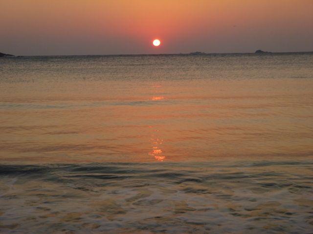 弓ヶ浜 初日の出