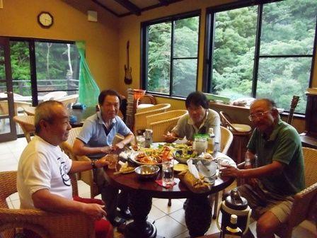 ラガーマン、高久さん、飯草さん、中井さん、藤井さん、