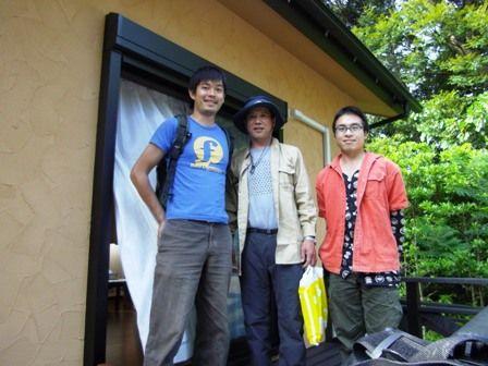 冨山さん、黒田さん、しんじんさん