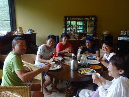 清水さん 朝食
