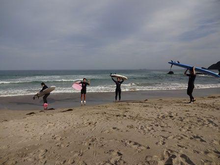 トニーさんのサーフィン教室