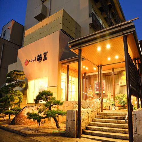 山陰「皆生温泉」は旅館が立ち並び温泉中心街を形成しています。