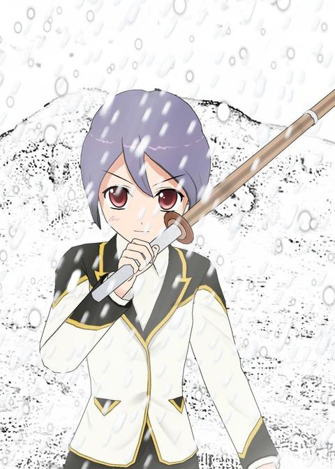 お城剣士・雪・目の色違う_001syuku